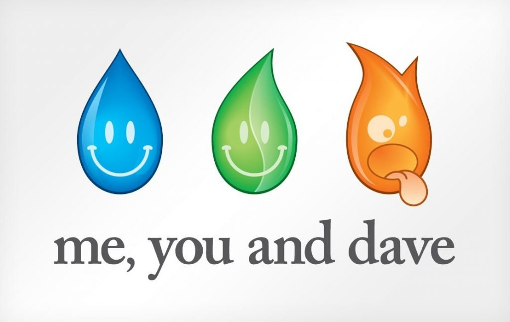 Me, You and Dave logo