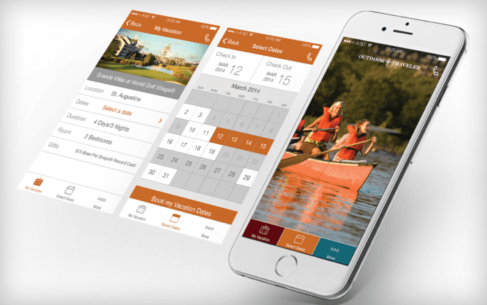 Corporate booking app overview